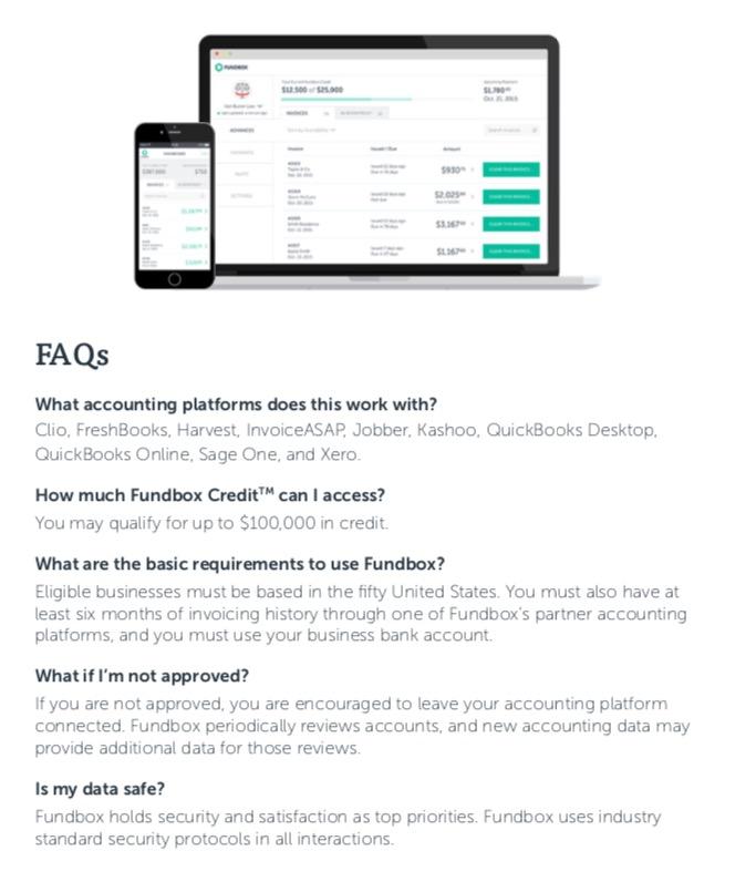Funding FAQ's – Friday, LLC